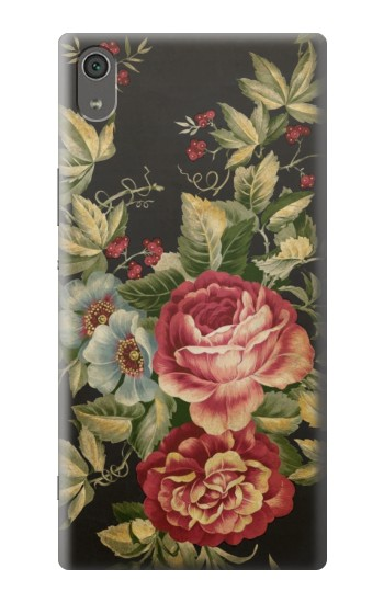 Printed Vintage Antique Roses Sony Xperia XA Ultra Case