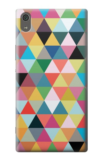Printed Triangles Vibrant Colors Sony Xperia XA Ultra Case