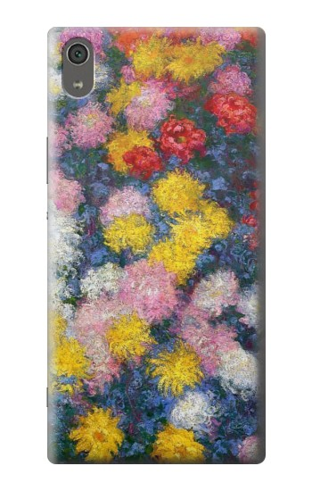 Printed Claude Monet Chrysanthemums Sony Xperia XA Ultra Case