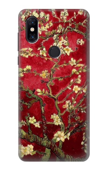 Printed Red Blossoming Almond Tree Van Gogh Xiaomi Mi Mix 3 Case