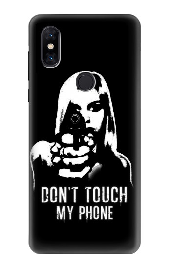 Printed Girl Do Not Touch My Phone Xiaomi Mi Mix 3 Case