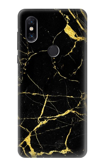Printed Gold Marble Graphic Printed Xiaomi Mi Mix 3 Case
