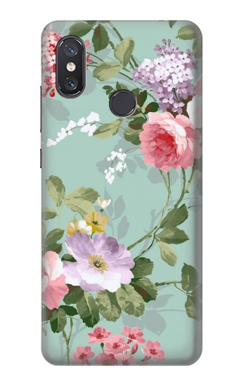 Printed Flower Floral Art Painting Xiaomi Mi 8 Case
