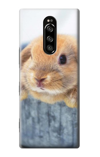 Printed Cute Rabbit Sony Xperia 1 Case
