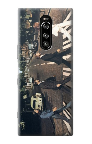Printed The Beatles Abbey Road Sony Xperia 1 Case
