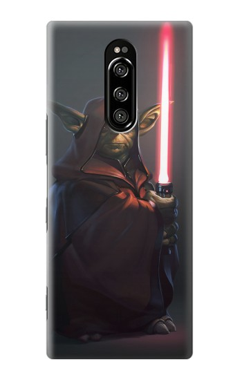 Printed Darth Yoda Sony Xperia 1 Case