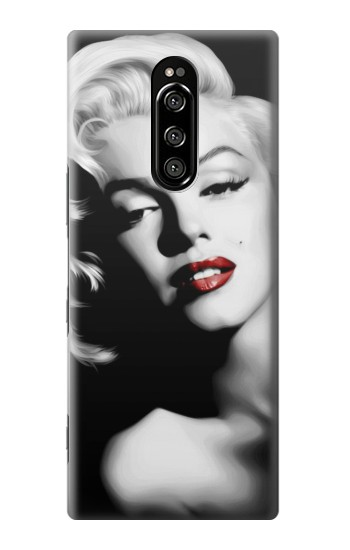 Printed Marilyn Monroe Sony Xperia 1 Case