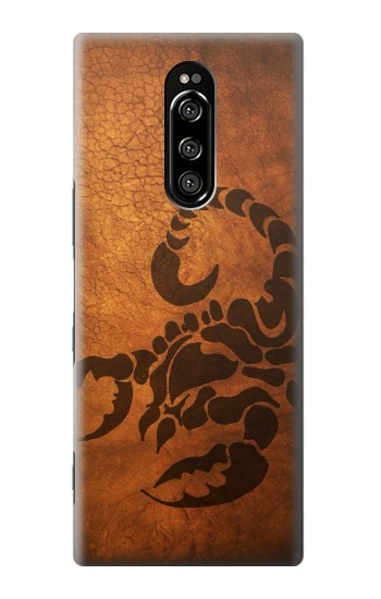 Printed Scorpion Tattoo Sony Xperia 1 Case