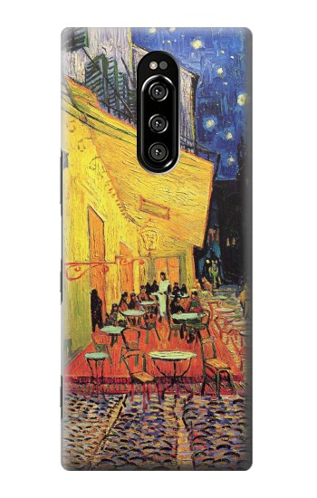 Printed Van Gogh Cafe Terrace Sony Xperia 1 Case