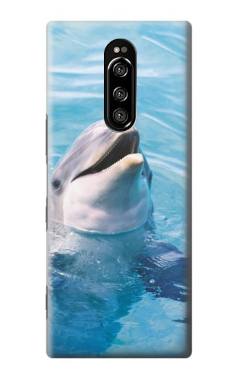 Printed Dolphin Sony Xperia 1 Case