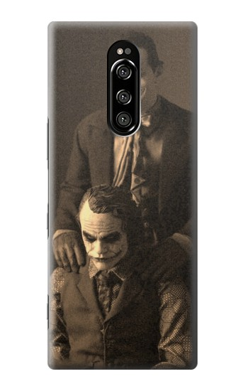 Printed Jokers Together Sony Xperia 1 Case