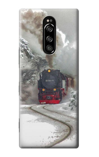 Printed Steam Train Sony Xperia 1 Case