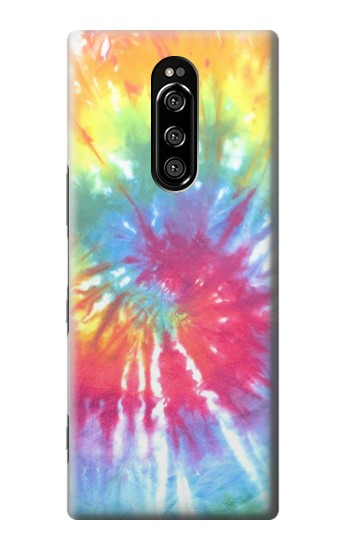 Printed Tie Dye Colorful Graphic Printed Sony Xperia 1 Case