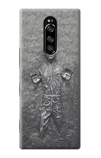 Printed Han Solo in Carbonite Sony Xperia 1 Case