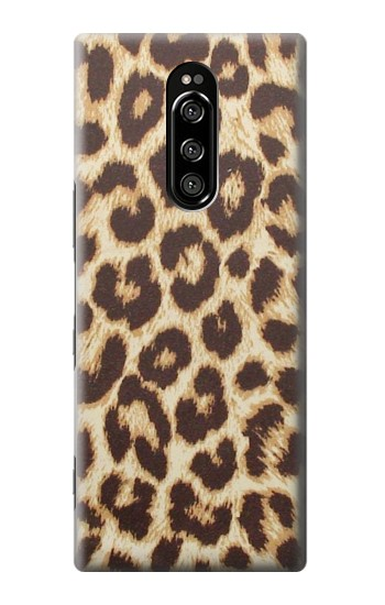 Printed Leopard Pattern Graphic Printed Sony Xperia 1 Case