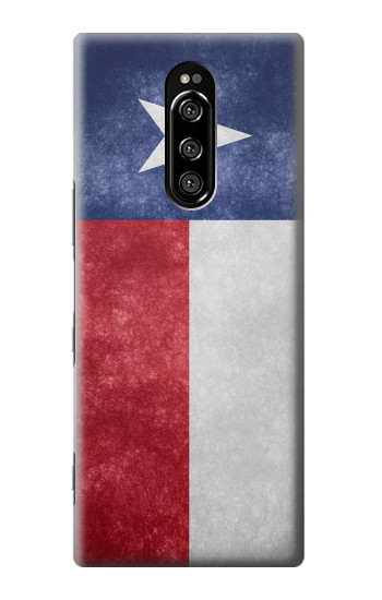 Printed Texas Retro Flag Sony Xperia 1 Case
