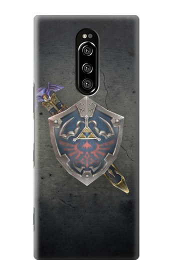 Printed Legend of Zelda Shield Sony Xperia 1 Case