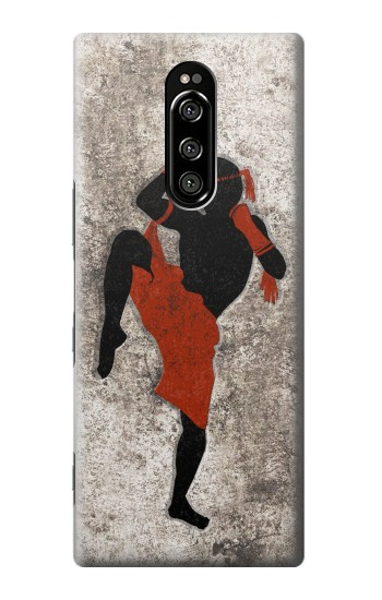 Printed Muay Thai Fight Boxing Sony Xperia 1 Case