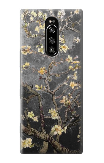 Printed Black Blossoming Almond Tree Van Gogh Sony Xperia 1 Case