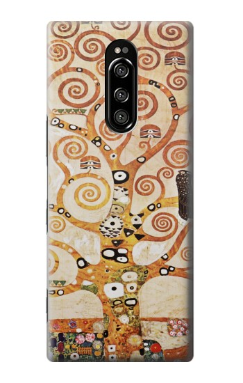 Printed The Tree of Life Gustav Klimt Sony Xperia 1 Case
