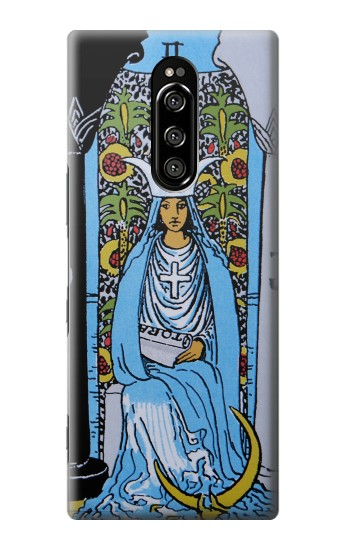 Printed High Priestess Tarot Card Sony Xperia 1 Case