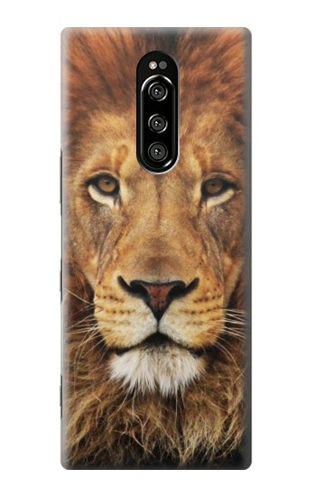 Printed Lion King of Beasts Sony Xperia 1 Case