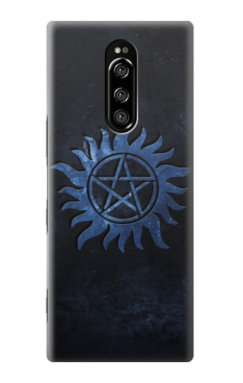 Printed Supernatural Anti Possession Symbol Sony Xperia 1 Case