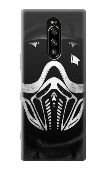 Printed Paintball Mask Sony Xperia 1 Case