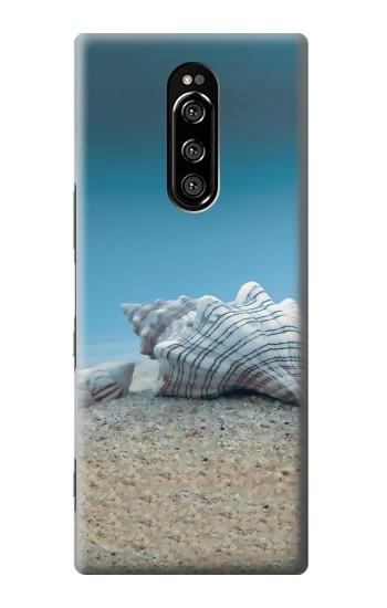 Printed Sea Shells Under the Sea Sony Xperia 1 Case