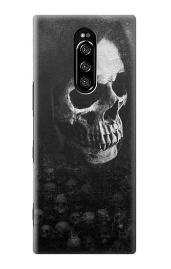Printed Death Skull Sony Xperia 1 Case