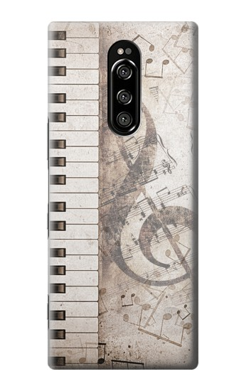 Printed Music Note Sony Xperia 1 Case
