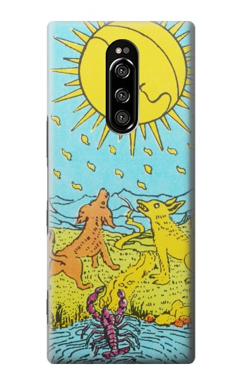 Printed Tarot Card Moon Sony Xperia 1 Case