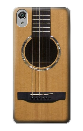 Printed Acoustic Guitar Sony Xperia X Case