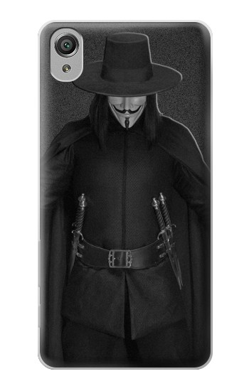 Printed V Mask Guy Fawkes Anonymous Sony Xperia X Case