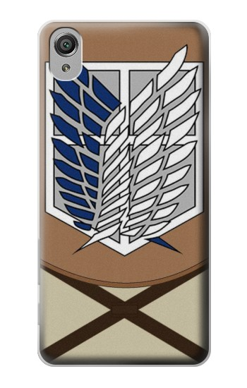 Printed Attack on Titan Survey Corps Uniform Sony Xperia X Case