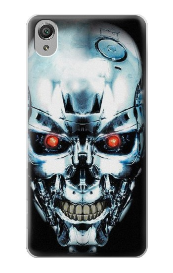 Printed Terminator Robot Skull Sony Xperia X Case