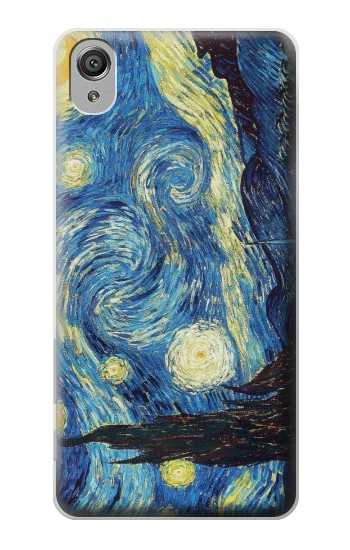 Printed Van Gogh Starry Nights Sony Xperia X Case