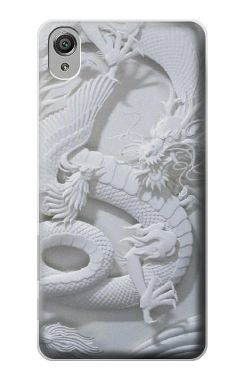 Printed Dragon Carving Sony Xperia X Case