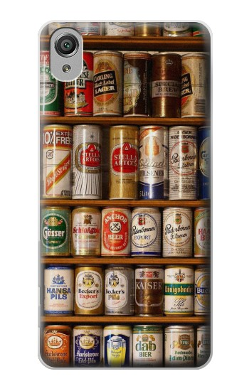 Printed Beer Cans Collection Sony Xperia X Case