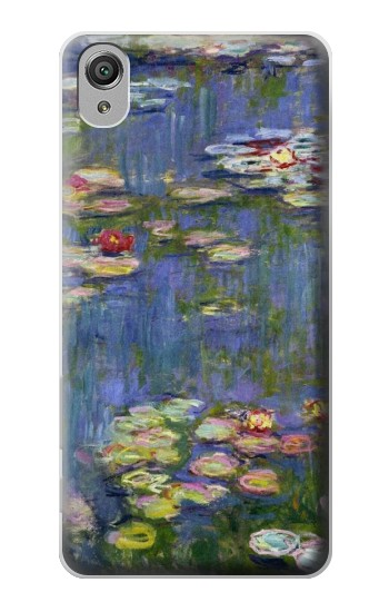 Printed Claude Monet Water Lilies Sony Xperia X Case