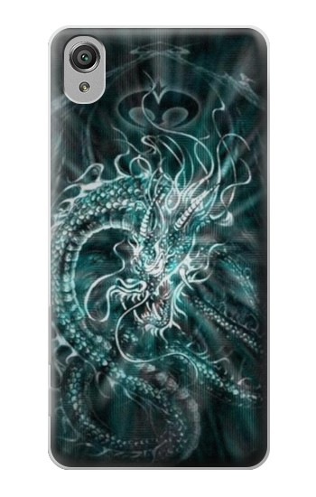 Printed Digital Chinese Dragon Sony Xperia X Case