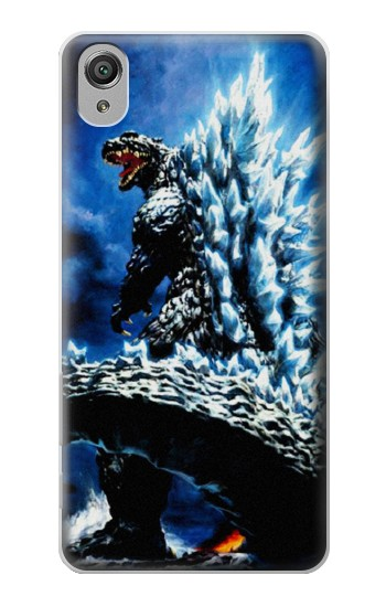 Printed Godzilla Giant Monster Sony Xperia X Case