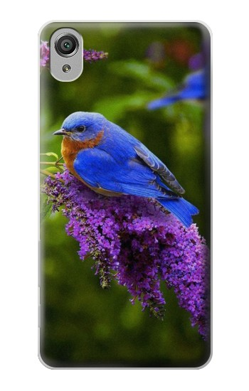 Printed Bluebird of Happiness Blue Bird Sony Xperia X Case