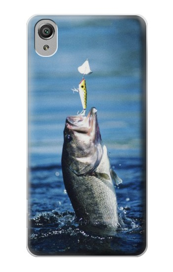 Printed Bass Fishing Sony Xperia X Case