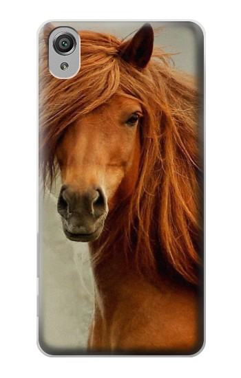 Printed Beautiful Brown Horse Sony Xperia X Case