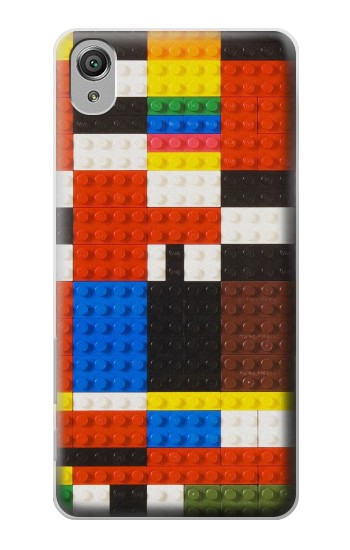 Printed Brick Toy Lego Graphic Printed Sony Xperia X Case