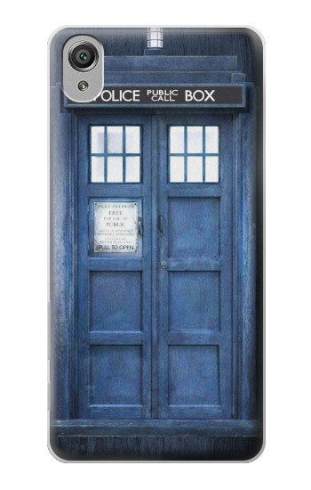 Printed Doctor Who Tardis Sony Xperia X Case