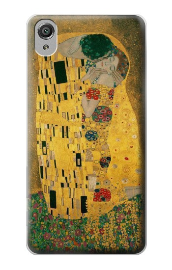 Printed Gustav Klimt The Kiss Sony Xperia X Case