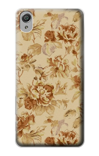 Printed Flower Floral Vintage Pattern Sony Xperia X Case