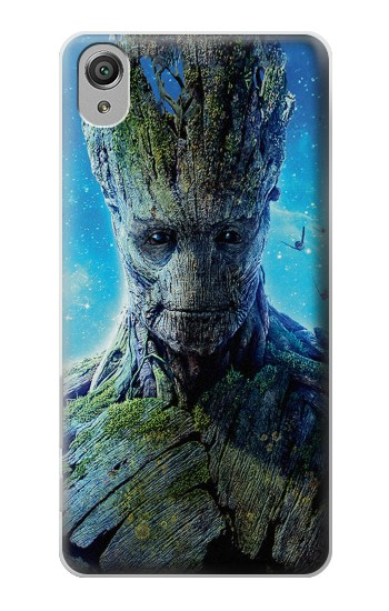 Printed Groot Guardians of the Galaxy Sony Xperia X Case